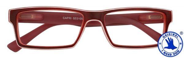 Leesbril CAPRI Rood