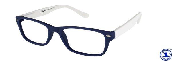 Leesbril FEELING Blauw - Wit