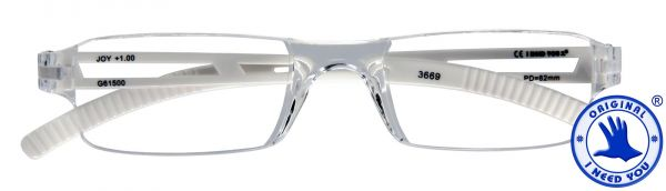 Leesbril JOY G61500 kristal-wit