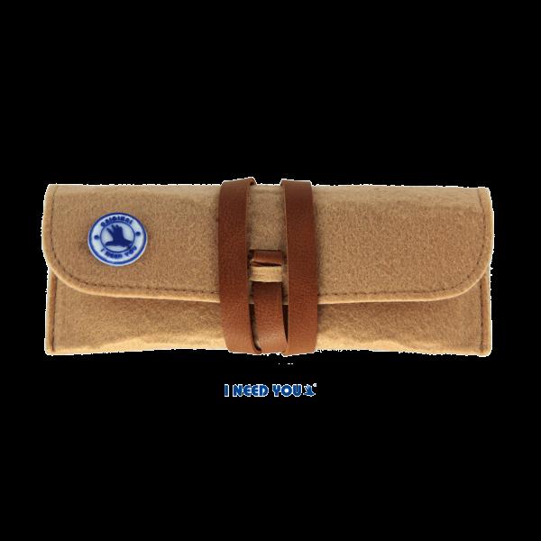 (Zonne)leesbril Playa - Bruin - Met een grandioos soft-etui in bijpassende kleur