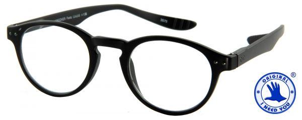 Leesbril Hangover Panto - Zwart - Met etui