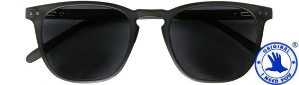 (Zonne)leesbril Playa - Grijs - Met een mooie soft-etui in bijpassende kleur