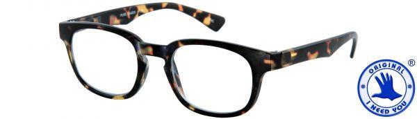 Leesbril Pure - Havana bruin - Met etui