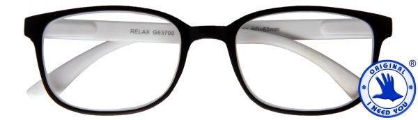 Leesbril Relax - Zwart wit
