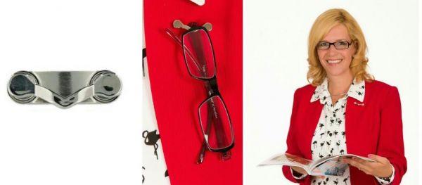 Nooit meer uw leesbril kwijt? BrilClip!